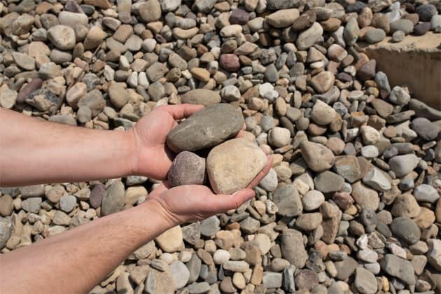 bulk River Rock supplier upper darby
